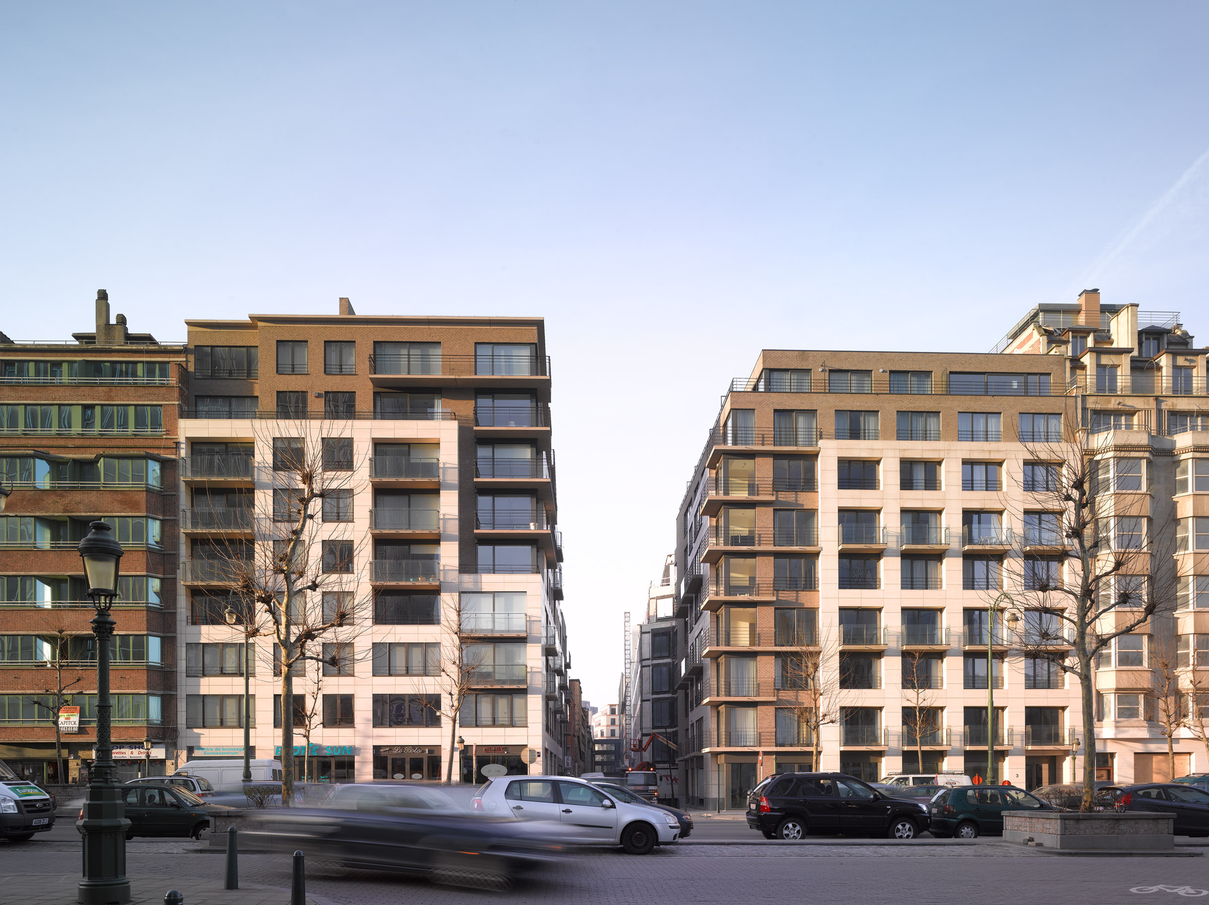 Green court projets herpain for Cout construction immeuble